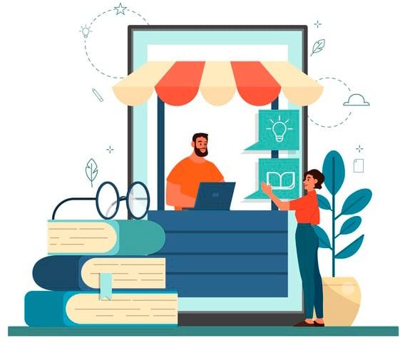 Plataforma Educativa elearning total - EducaShop La primera Plataforma e-commerce de Latinoamérica destinada a la oferta de Cursos y Capacitaciones diseñadas a medida.